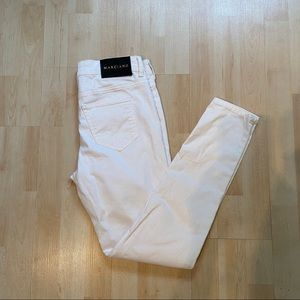 Marciano white skinny jeans